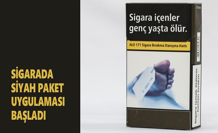 Sigarada Siyah Paket Uygulaması Başladı