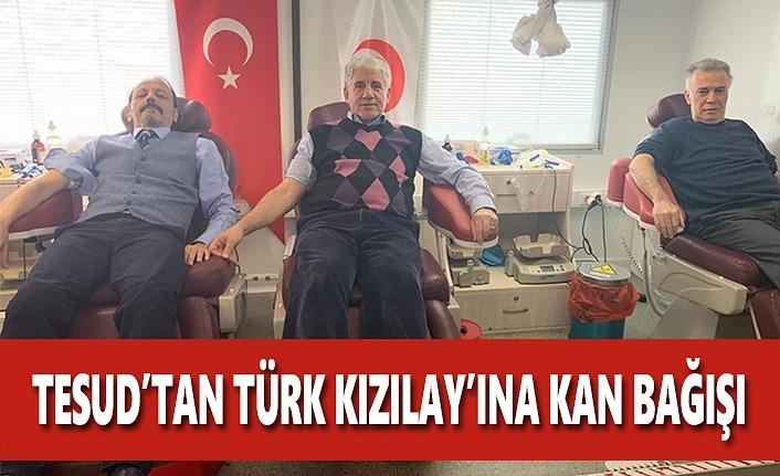 TESUD'dan Türk Kızılay'ına Kan Bağışı