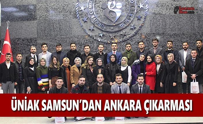 UNİAK SAMSUN'dan Ankara Çıkarması