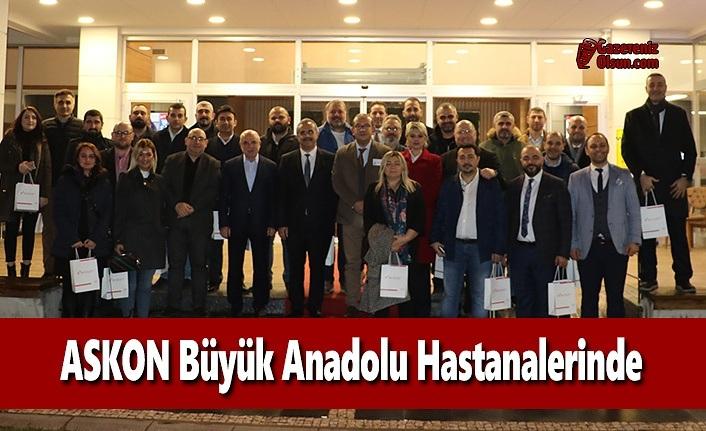 ASKON Büyük Anadolu Hastanelerinde