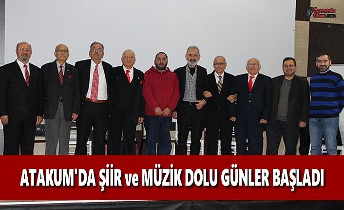 Atakum'da Şiir ve Müzik Dolu Günler Başladı