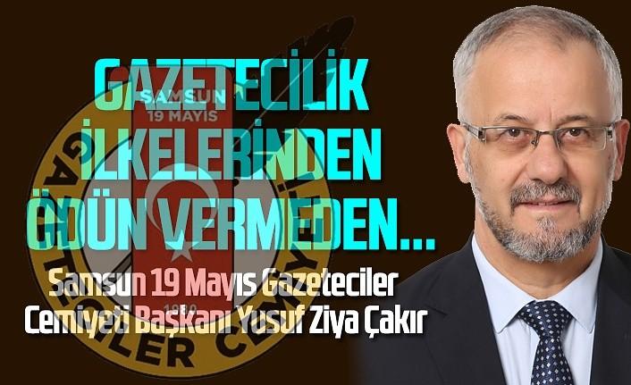 Başkan Çakır'dan 10 Ocak Çalışan Gazeteciler Günü Mesajı
