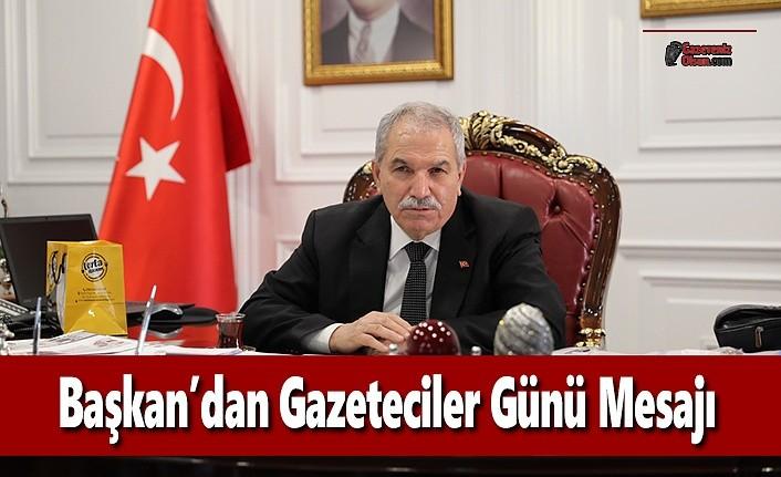Başkan Demirtaş'tan Gazeteciler Günü Mesajı