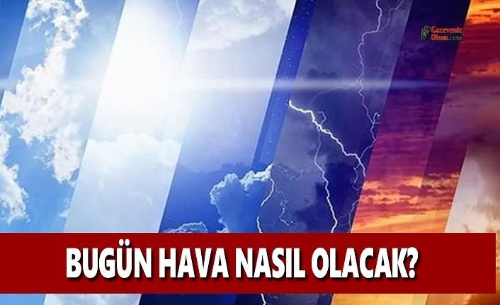 Bugün(15 Ocak Çarşamba) Hava Nasıl Olacak? Samsun'da Hava Durumu