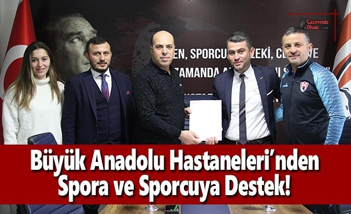 Büyük Anadolu Hastaneleri'nden Spora ve Sporcuya Destek!