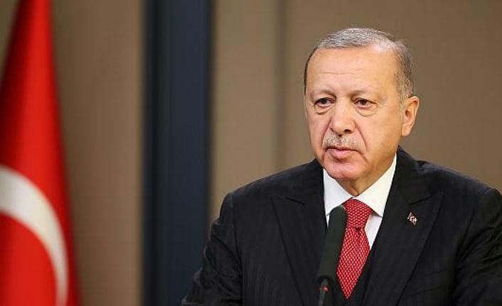 Cumhurbaşkanı Erdoğan'dan Elazığ depremi ile ilgili ilk açıklama