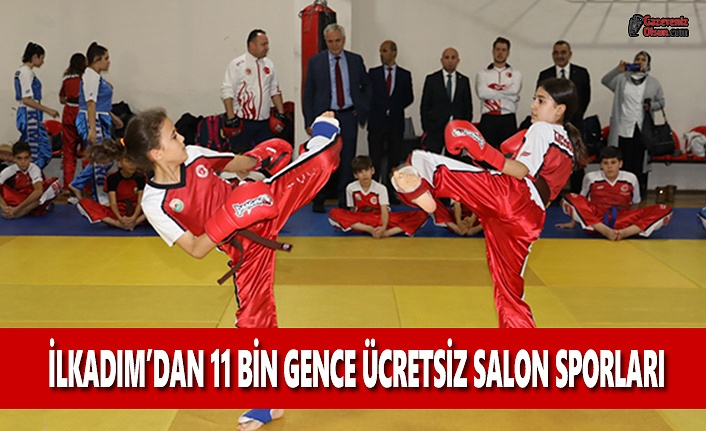 İlkadım'dan 11 Bin Gence Ücretsiz Salon Sporları