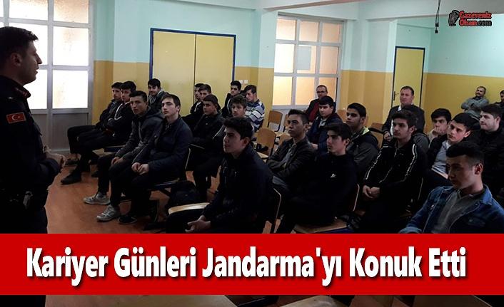 Kariyer Günleri Jandarma'yı Konuk Etti