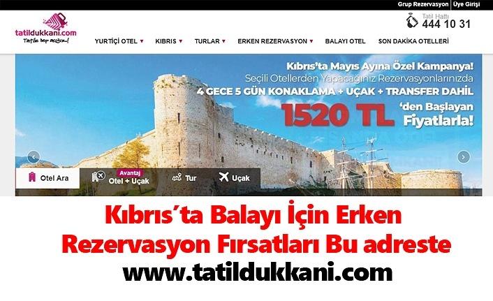 Kıbrıs'ta Balayı İçin Erken Rezervasyon Fırsatları