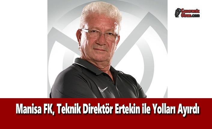 Manisa FK, Teknik Direktör Ertekin ile Yolları Ayırdı