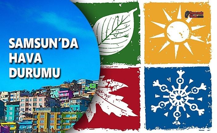 Samsun'da kar yağışı - Samsun 24 Ocak Hava Durumu