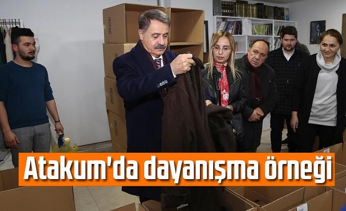 Samsun Haber - Atakum'da dayanışma örneği
