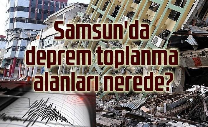 Samsun Haber - Deprem toplanma alanlarını nasıl öğrenebilirim?