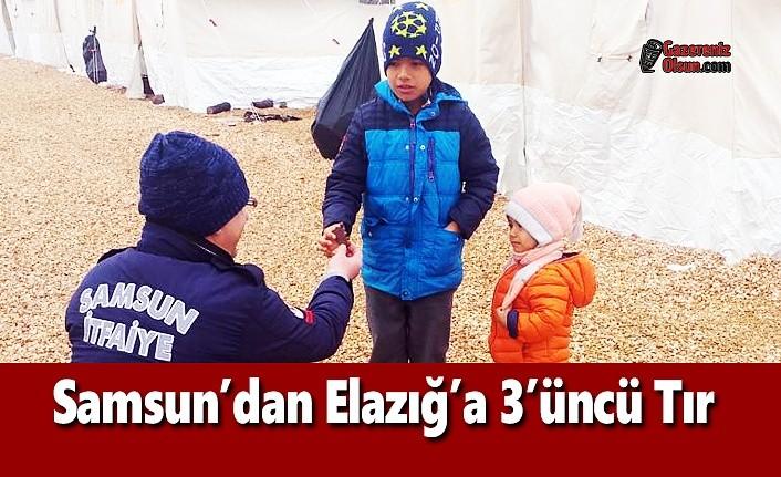 Samsun İtfaiyesi, Elazığ'da