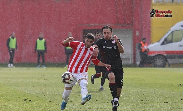 Samsunspor 1-0 Önde