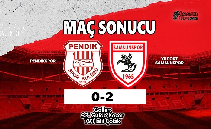 Samsunspor, Pendikspor Engelini 2-0 İle Geçti
