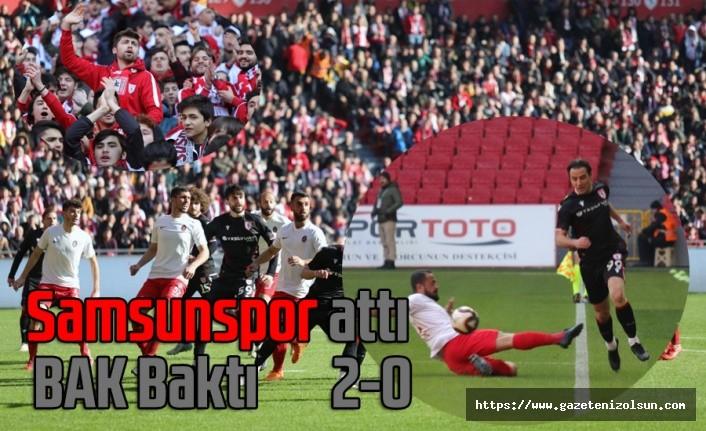Samsunspor BAK FK maç sonucu : 2-0