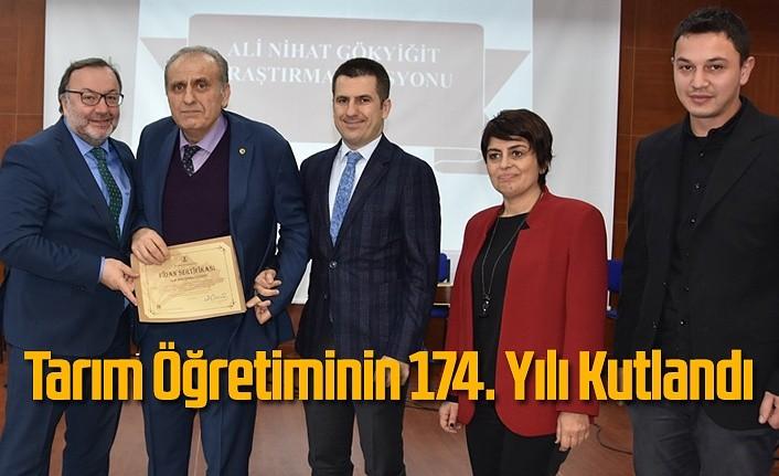 Tarım Öğretiminin 174. Yılı Samsun'da Kutlandı
