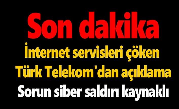 Türk Telekom'un DNS'lerine siber saldırı!