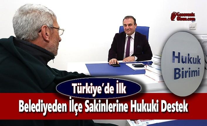 Türkiye'de İlk; Belediyeden İlçe Sakinlerine Hukuki Destek
