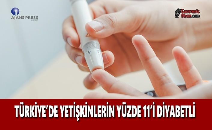 Türkiye'de Yetişkinlerin Yüzde 11'i Diyabetli