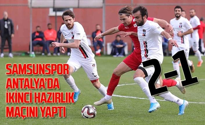 Yılport Samsunspor - Vanspor Hazırlık Maçı: 2-1
