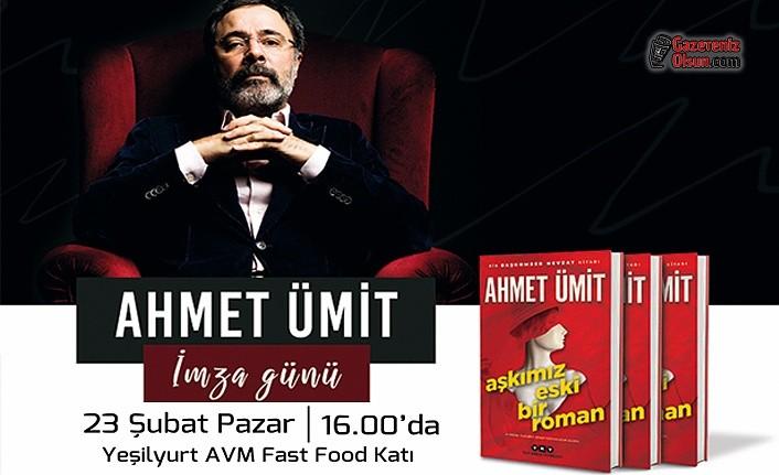 Ahmet Ümit Yeşilyurt AVM'de Okurlarıyla Buluşacak