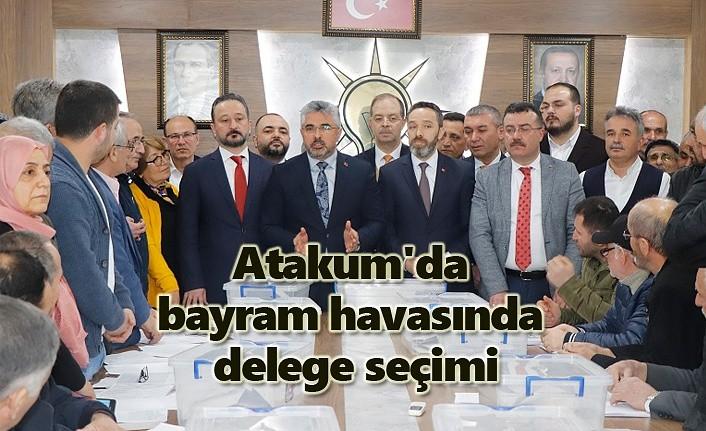 Atakum'da bayram havasında delege seçimi