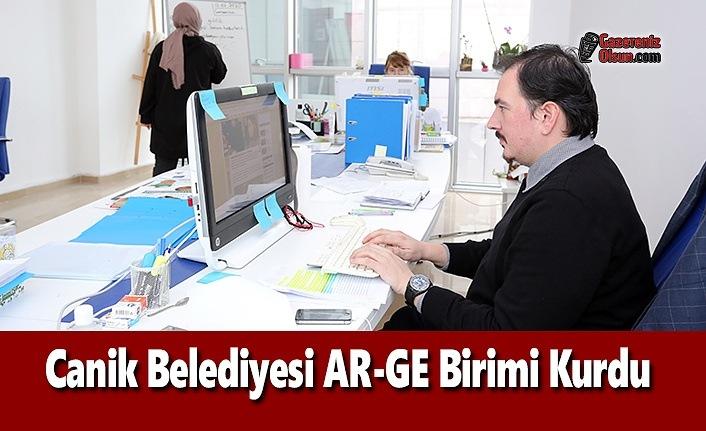 Canik Belediyesi AR-GE Birimi Kurdu