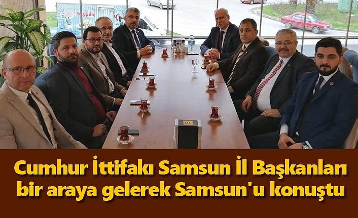 Cumhur İttifakı Samsun'u konuştu!