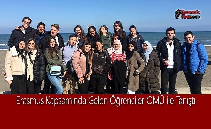 Erasmus Kapsamında Gelen Öğrenciler OMÜ ile Tanıştı