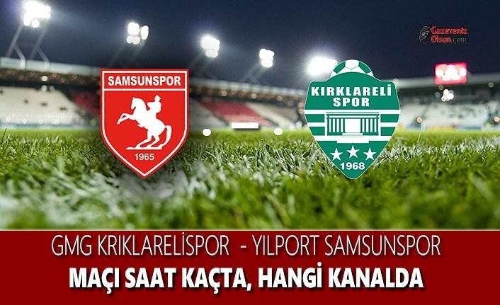 Kırklarelispor - Samsunspor maçı hangi kanalda? Ne zaman? Saat kaçta?