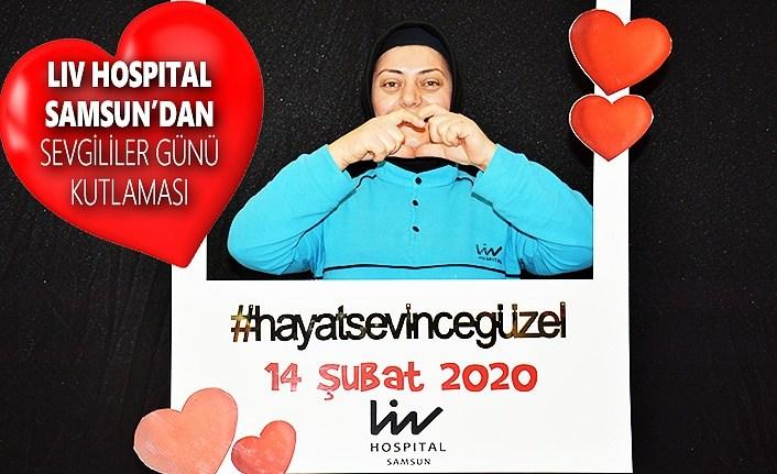 Liv Hospital Samsun'dan Sevgililer Günü Kutlaması