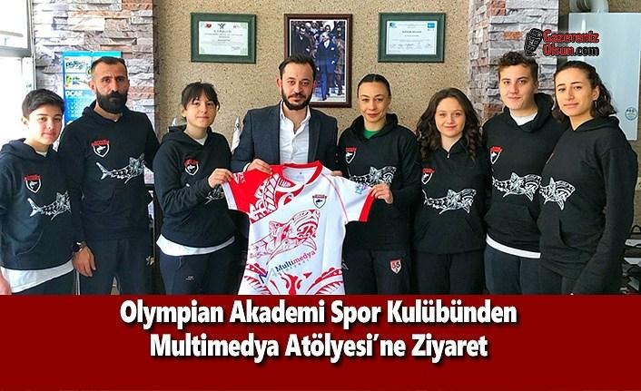Olympian Akademi Spor Kulübünden Multimedya Atölyesi'ne Ziyaret