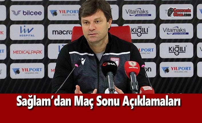 Teknik Direktör Sağlam, Amed Sportif Maçını Değerlendirdi