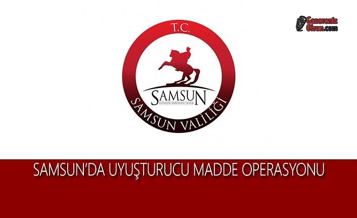 Samsun'da Uyuşturucu Madde Operasyonu