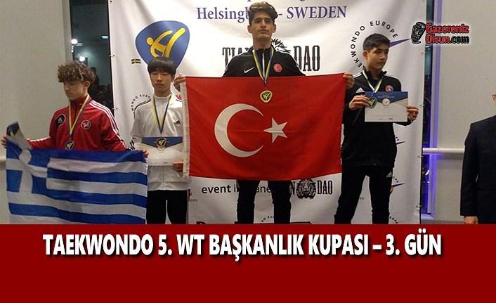 Taekwondo 5. WT Avrupa Başkanlık Kupası 3. Gün