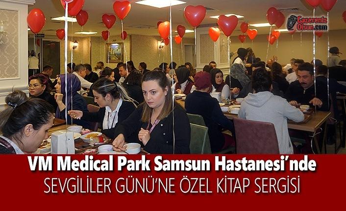VM Medical Park Samsun Hastanesi'nde Sevgililer Gününe Özel Kitap Sergisi