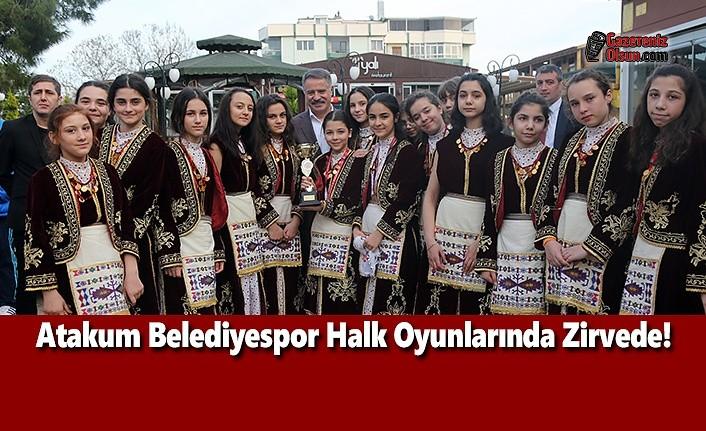 Atakum Belediyespor Halk Oyunlarında Zirvede!