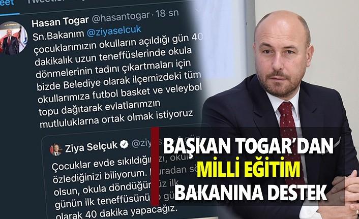 Bakan Selçuk'a Tekkeköy'den tam destek