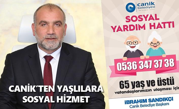 Başkan Sandıkçı 65 yaş ve üstü vatandaşlara çağrı
