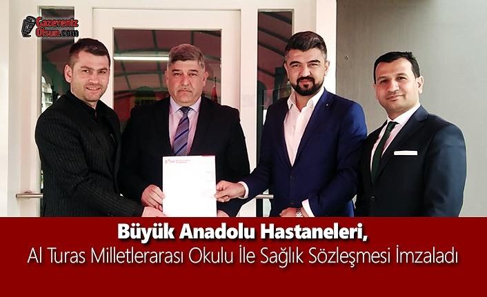 Büyük Anadolu Hastaneleri, Al Turas Milletlerarası Okulu İle Sağlık Sözleşmesi İmzaladı