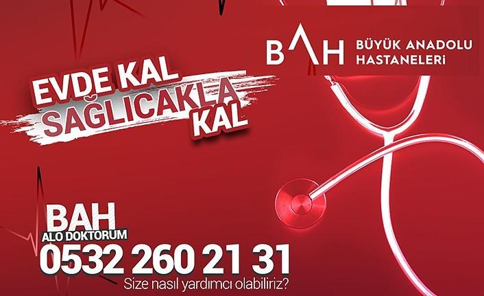 """Büyük Anadolu Hastanelerinden """"BAH Alo Doktorum Uygulaması"""""""