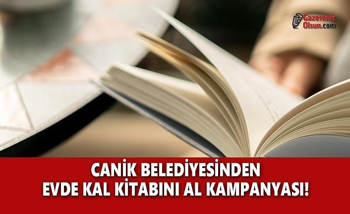 Canik Belediyesinden 'Evde Kal Kitabını Al' Kampanyası