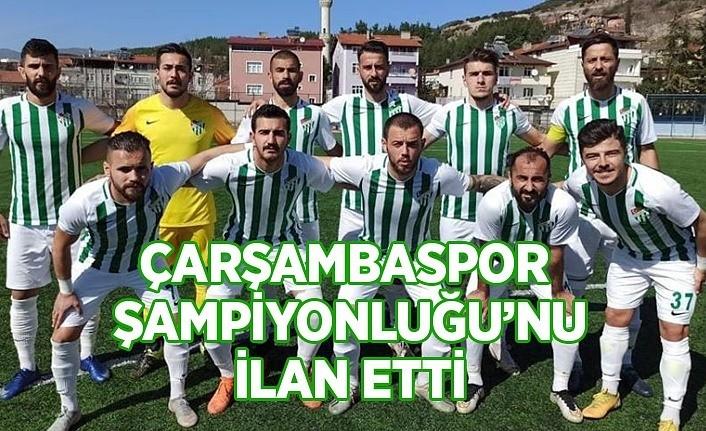 Çarşambaspor Şampiyonluğu'nu ilan etti