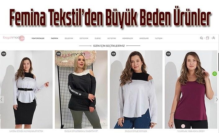Femina Tekstil'den Büyük Beden Ürünler