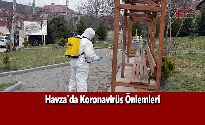 Havza'da Koronavirüs Önlemleri