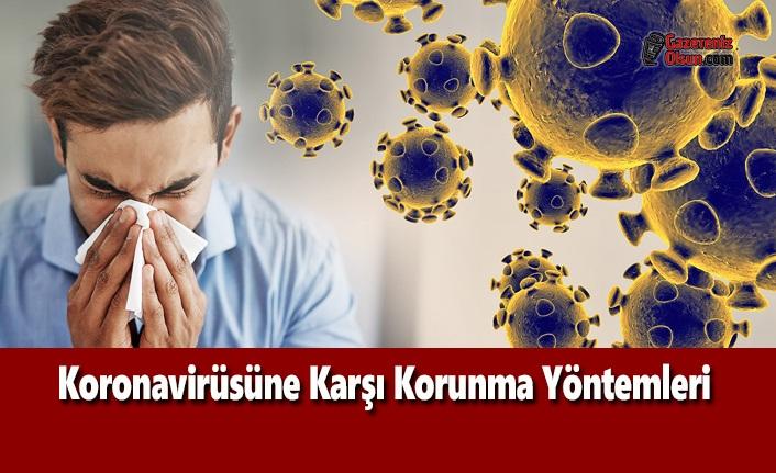 Koronavirüsüne Karşı Korunma Yöntemleri