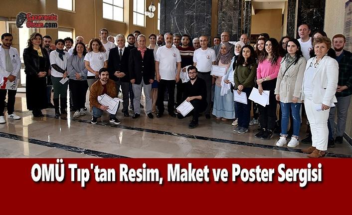 OMÜ Tıp'tan Resim, Maket ve Poster Sergisi