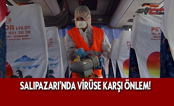 Salıpazarı'nda Virüs Önlemleri